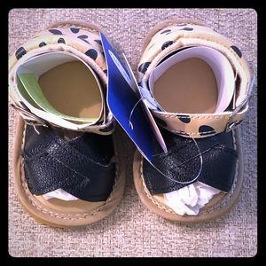 Infant shoes size 0-3 months